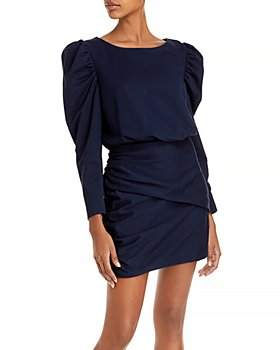 Rebecca Taylor - French Terry Ruched Dress