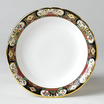 "Royal Crown Derby - ""Chelsea Garden"" Salad Plate"