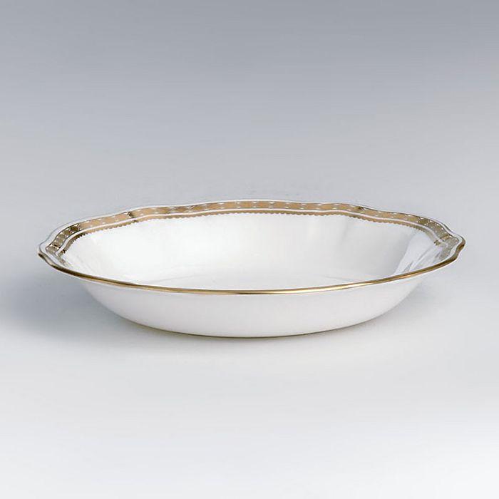 "Royal Crown Derby - ""Carlton Gold"" Cereal Bowl"