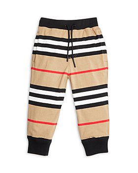 Burberry - Boys' Lanford Icon Stripe Joggers - Little Kid, Big Kid