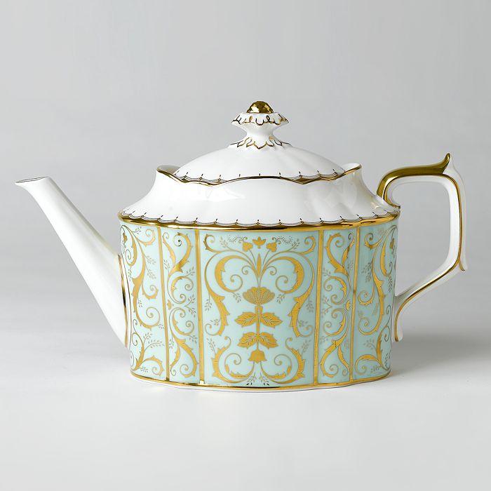 """Royal Crown Derby - """"Darley Abbey"""" Teapot"""