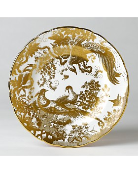 "Royal Crown Derby - ""Gold Aves"" Salad Plate, 8"""