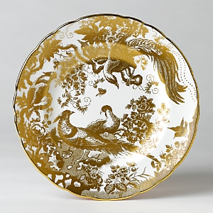 Royal Crown Derby Gold Aves Salad Plate, 8