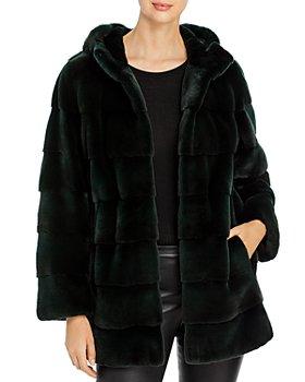 Maximilian Furs - Quilted Mink Coat