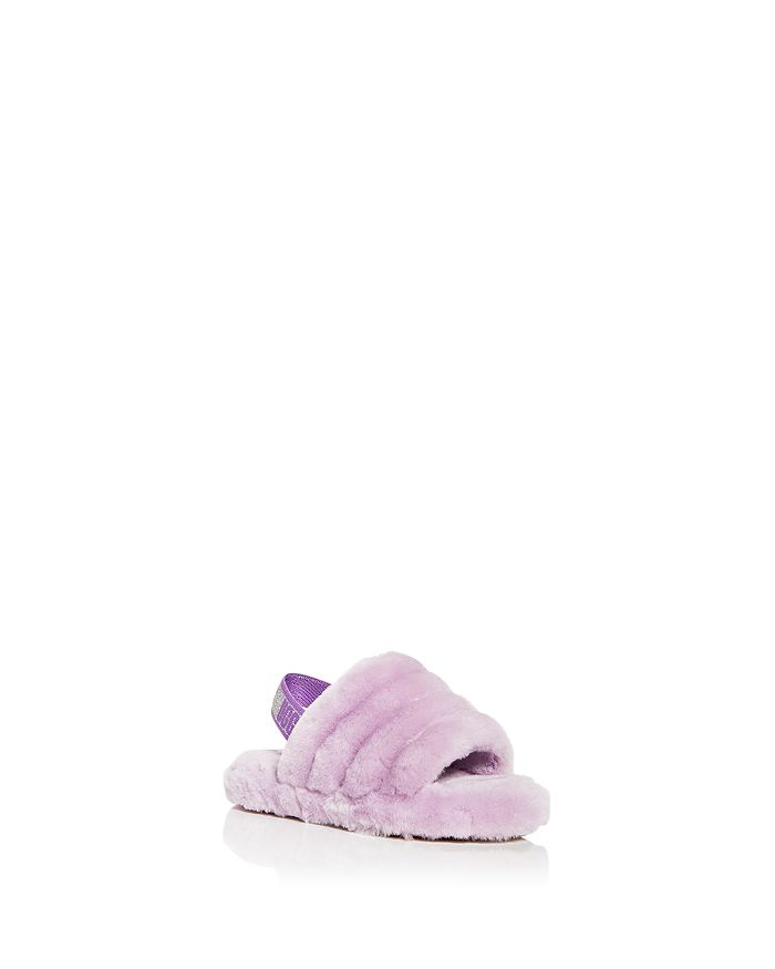 UGG® - Girls' Fluff Yeah Shearling Slingback Slippers - Walker, Toddler, Little Kid, Big Kid