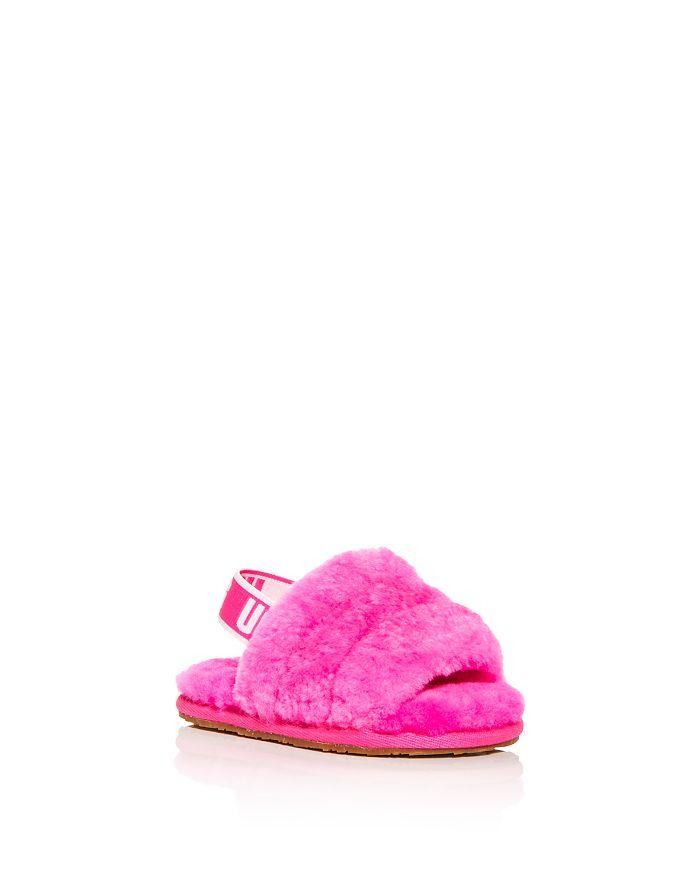 UGG® - Girls' Fluff Yeah Slingback Shearling Slippers - Baby, Toddler