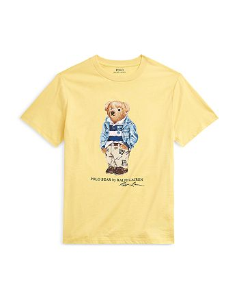 Ralph Lauren - Boys' Crewneck Polo Bear Graphic Tee - Little Kid