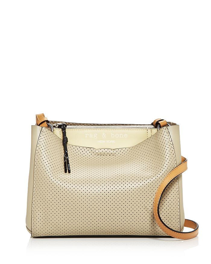 rag & bone - Passenger Perforated Leather Crossbody