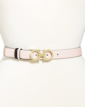 Salvatore Ferragamo - Women's Gancini Reversible Leather Belt