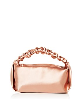 Alexander Wang - Scrunchie Satin Mini Clutch
