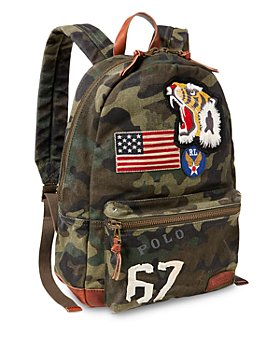 Polo Ralph Lauren - Camouflage Canvas Backpack