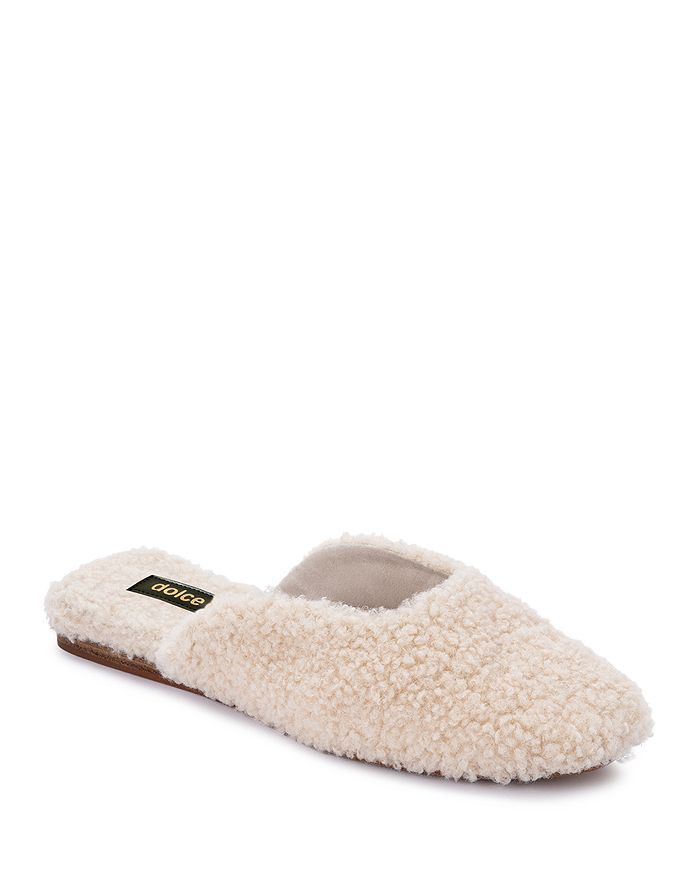 Dolce Vita - Women's Saydee Square Toe Plush Slippers