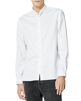 The Kooples - Cotton Officer Collar Shirt