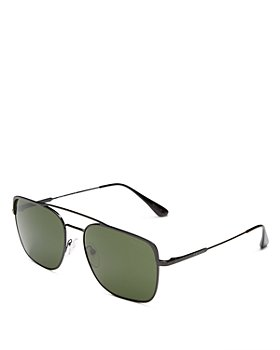 Prada - Men's Brow Bar Aviator Sunglasses, 59mm