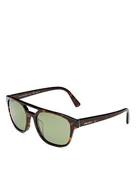 Prada - Men's Polarized Square Sunglasses, 56mm