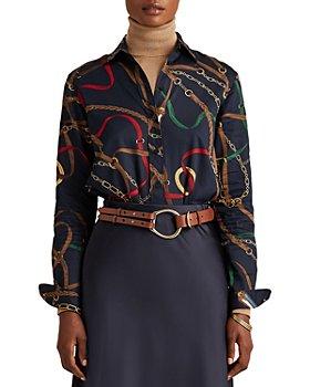 Ralph Lauren - Printed Button Front Shirt
