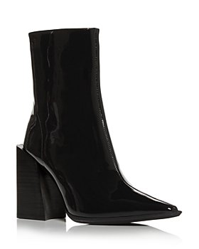 Jeffrey Campbell - Women's High Block Heel Booties