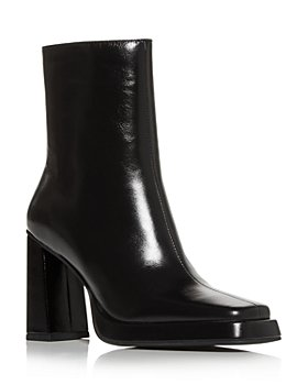 Jeffrey Campbell - Women's Square Toe High Heel Booties
