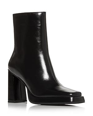 Jeffrey Campbell Women\\\'s Square Toe High Heel Booties