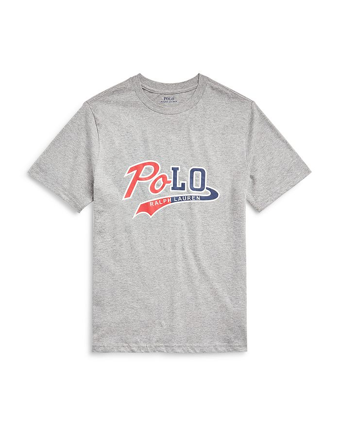 Ralph Lauren - Boys' Logo Print Cotton Tee - Little Kid, Big Kid