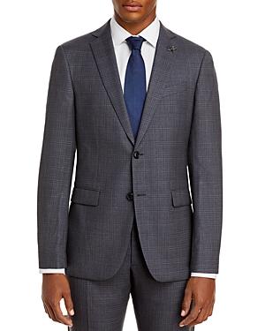 John Varvatos Star Usa Slim Fit Bleecker Plaid Suit Jacket