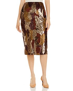 Lafayette 148 New York - Casey Sequined Pencil Skirt