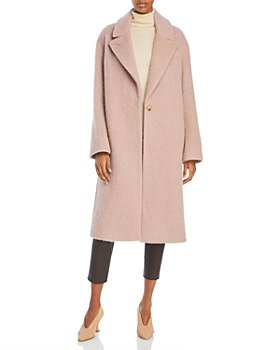 Vince - One Button Textured Coat