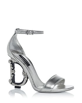 Dolce & Gabbana - Women's D&G Sculpted High Heel Sandals