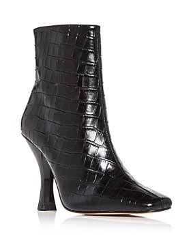 KURT GEIGER LONDON - Women's Rocco Square Toe Booties