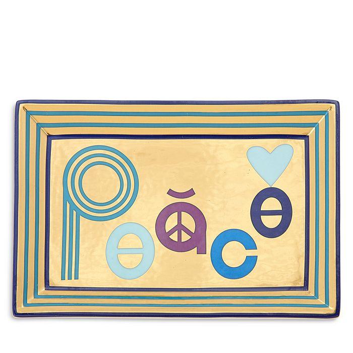 Jonathan Adler - Peace Rectangle Tray