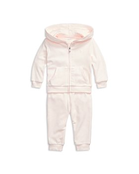 Ralph Lauren - Girls' Velour Hoodie & Jogger Pants Set - Baby