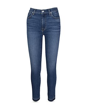 7 For All Mankind - High Waist Ankle Skinny Jeans in Court St