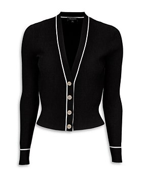 Ted Baker - Frankyy Stitch Detail Ribbed Cardigan