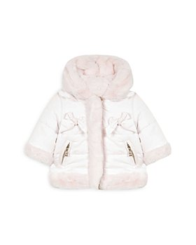 Tartine et Chocolat - Girls' Reversible Hooded Jacket - Baby