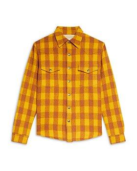 Sandro - Check Shirt Jacket