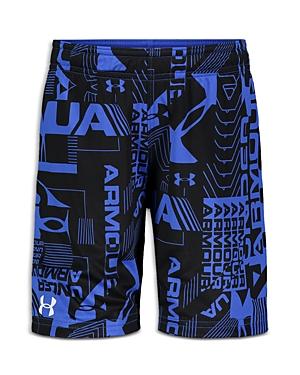 Under Armour Boys' Logo Reversible Shorts - Little Kid