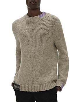 Helmut Lang - Men's Camel Crewneck Sweater