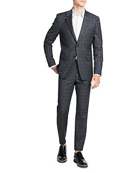 Theory - Tonal Plaid Slim Fit Suit Separates