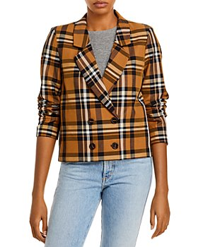 Just female - Elva Plaid Blazer