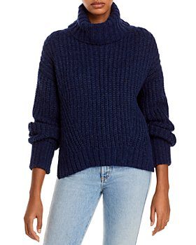 Eleven Six - Ali Ribbed Turtleneck Sweater
