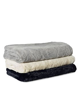 Magaschoni - Big Rabbit Faux Fur Throw