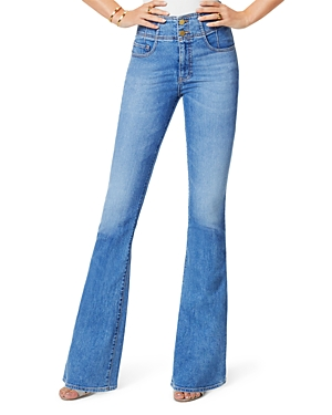 Ramy Brook Natalia Cotton Flare Jeans in Lightwash-Women