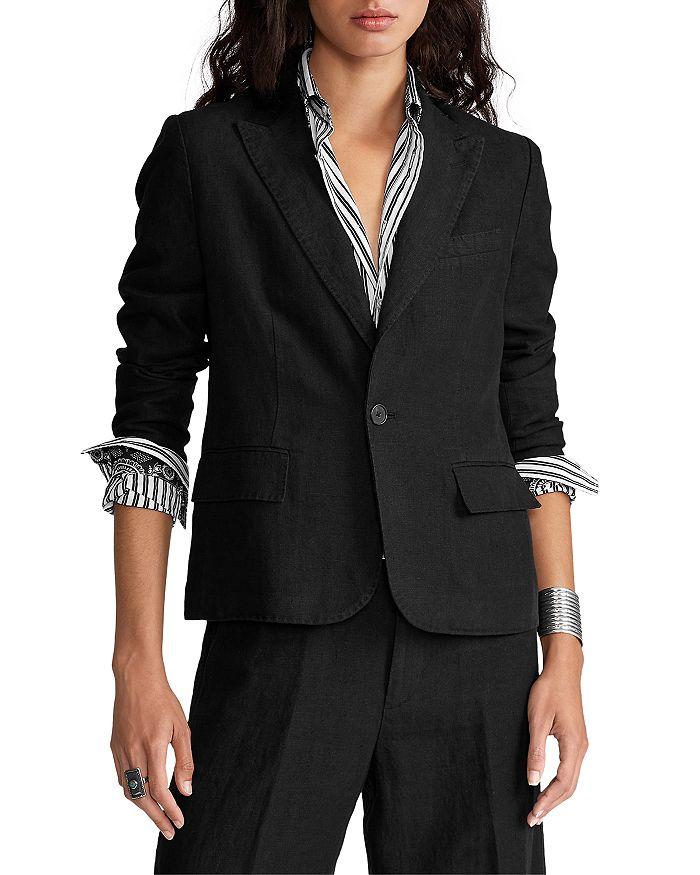 Ralph Lauren - Linen One Button Blazer