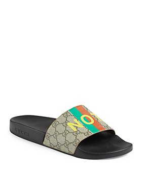 Gucci - Women's 'Fake/Not' Pool Slides