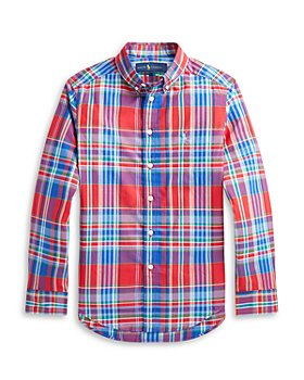 Ralph Lauren - Boys' Plaid Shirt - Big Kid