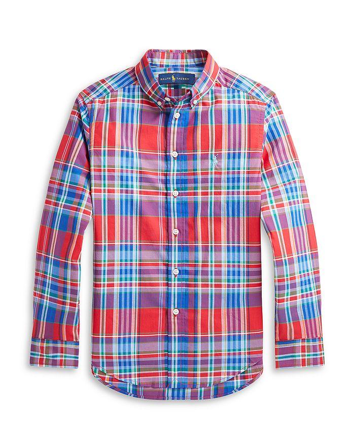 Ralph Lauren - Boys' Plaid Shirt - Little Kid, Big Kid