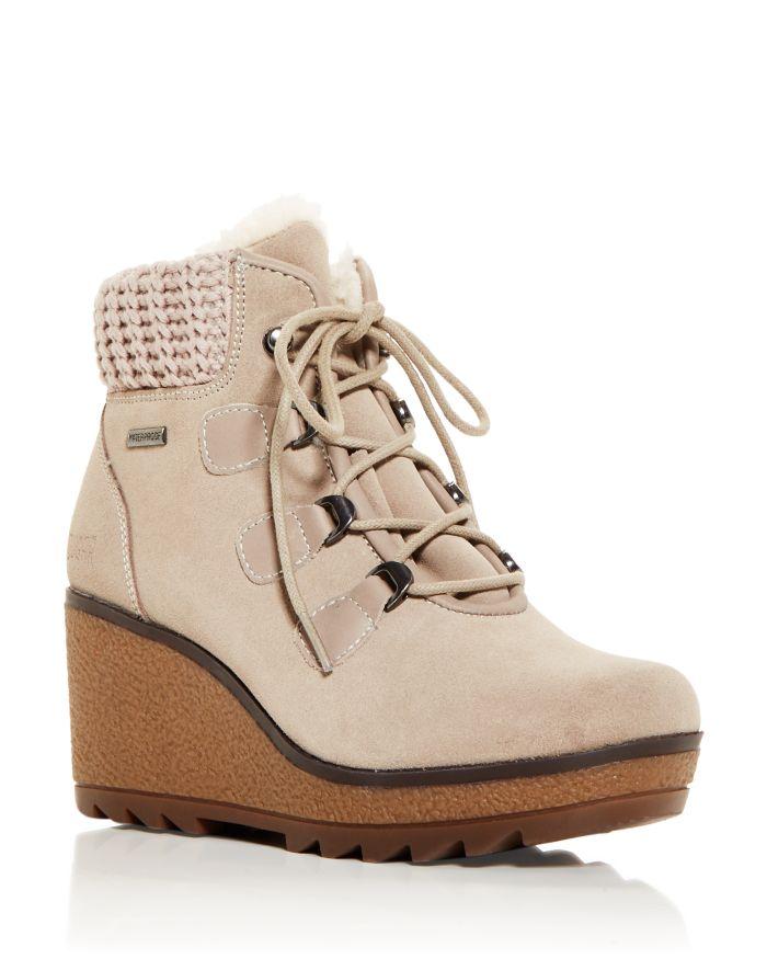 Cougar Women's Waterproof Wedge Platform Cold Weather Boots  | Bloomingdale's