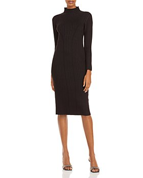 FRENCH CONNECTION - Jolie Textured Mock Neck Dress