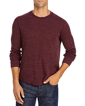 Vince Long Sleeve Waffle Knit Tee-Men