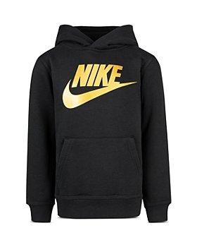 Nike - Boys' Logo Lightweight Fleece Hoodie - Little Kid